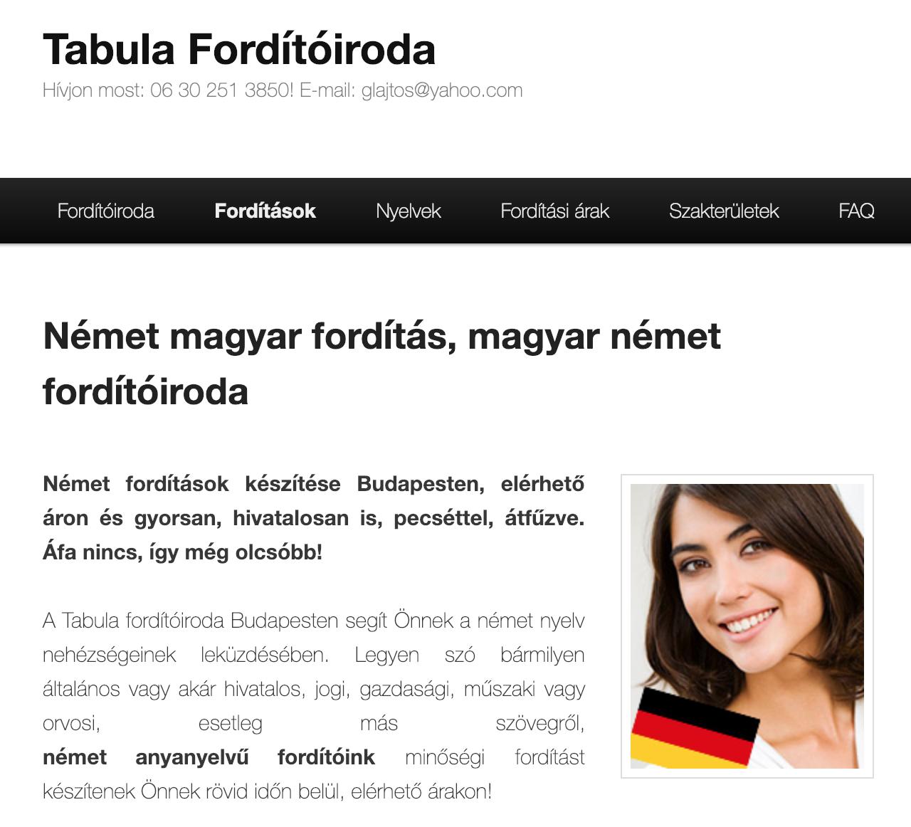 német magyar fordító